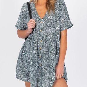 princess polly button down dress